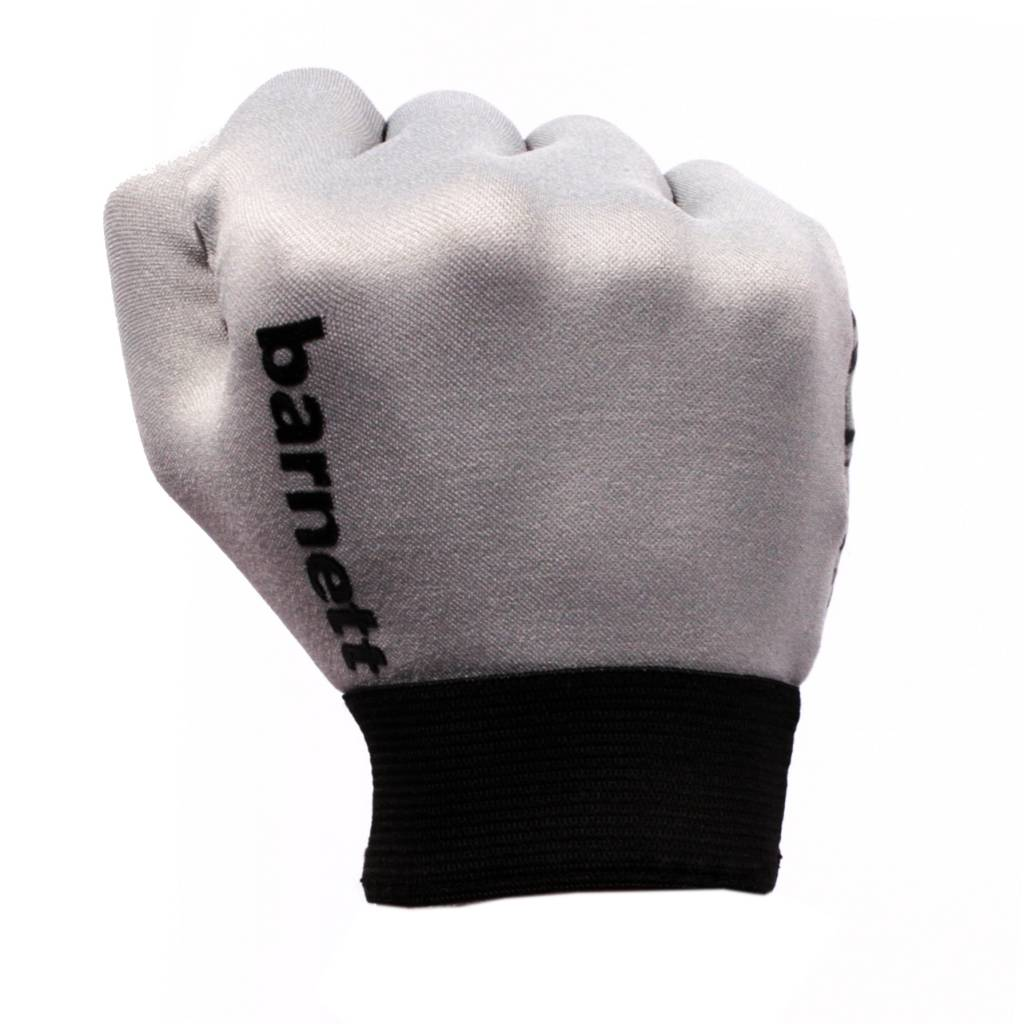 FLGL-02 New generation running football gloves, RE,DB,RB, grey