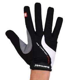 BG-01 Long bike gloves: Light, isolating, high-performance, Black
