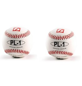"PL-1 Elite match baseballs, Size 9"" White, 2 pieces"