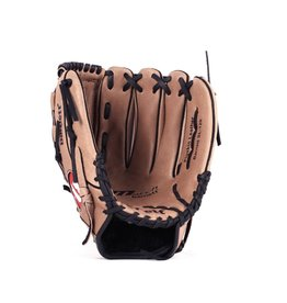"""SL-120 Baseball gloves in leather infield/outfield, size 12"""", brown"""