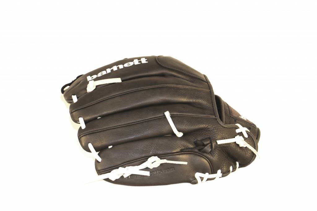 GL-127 Competition baseball glove, genuine leather, outfield 12.7', Black