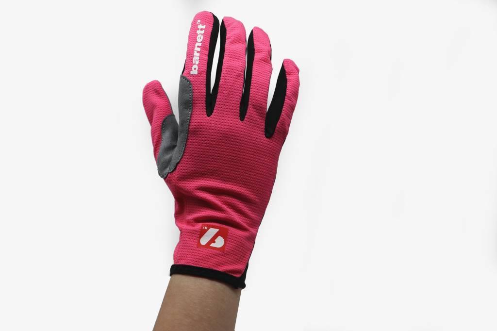 NBG-18  Gloves for Rollerski - cross-country - road bike - running - PINK
