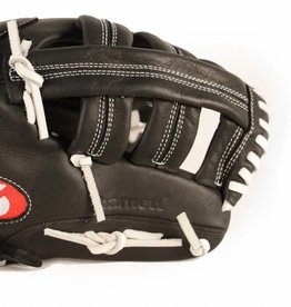 """GL-130 Competition baseball glove, 13"""" genuine leather, outfield, Black"""