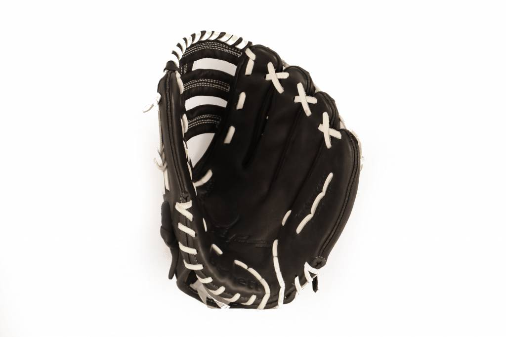 "GL-130 Competition baseball glove, 13"" genuine leather, outfield, Black"
