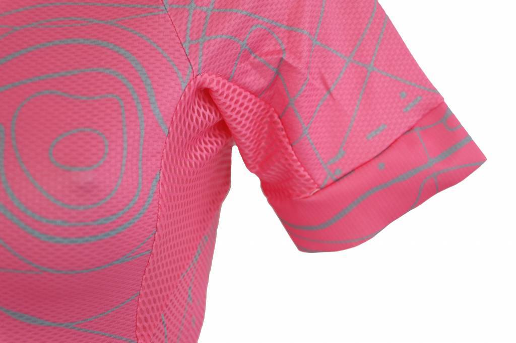Bike textile - short sleeve Jersey, pink