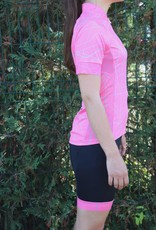 Bike textile - black & pink cycling shorts