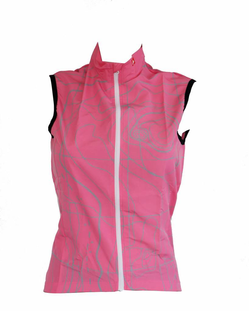 Bike textile - short sleeve Jacket, pink