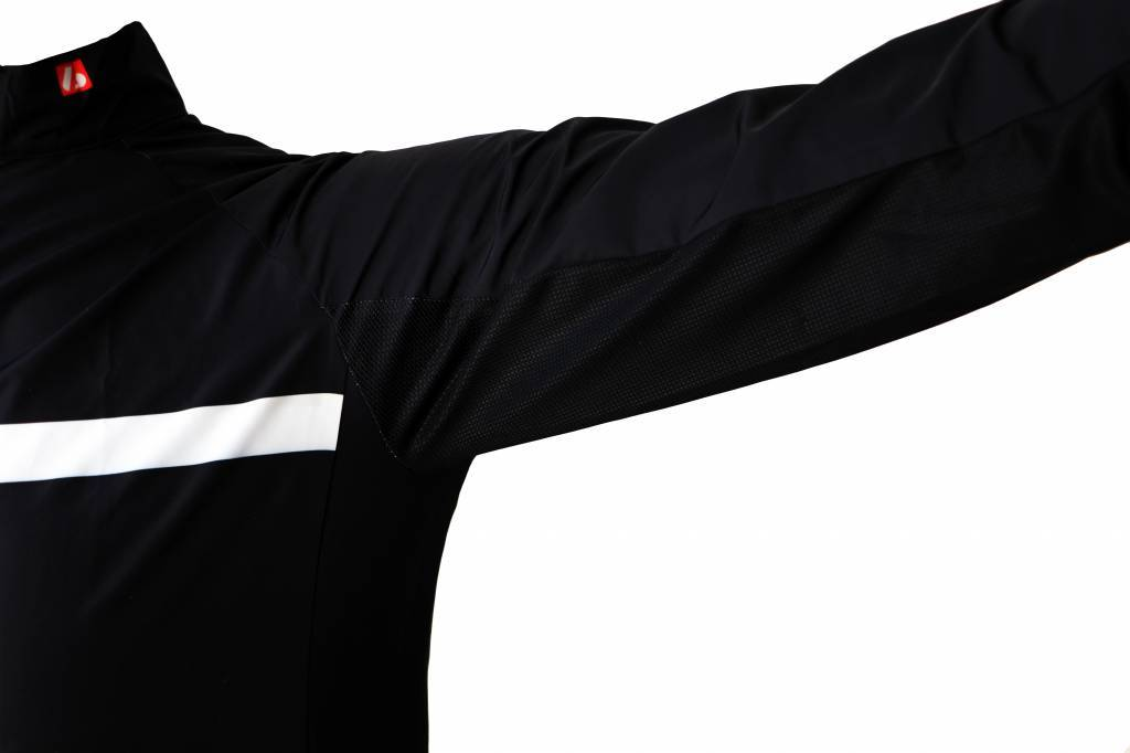 Barnett Bike textile - long sleeved jacket, black and white windbreaker