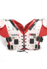 MARK II  football shoulder pads, Red