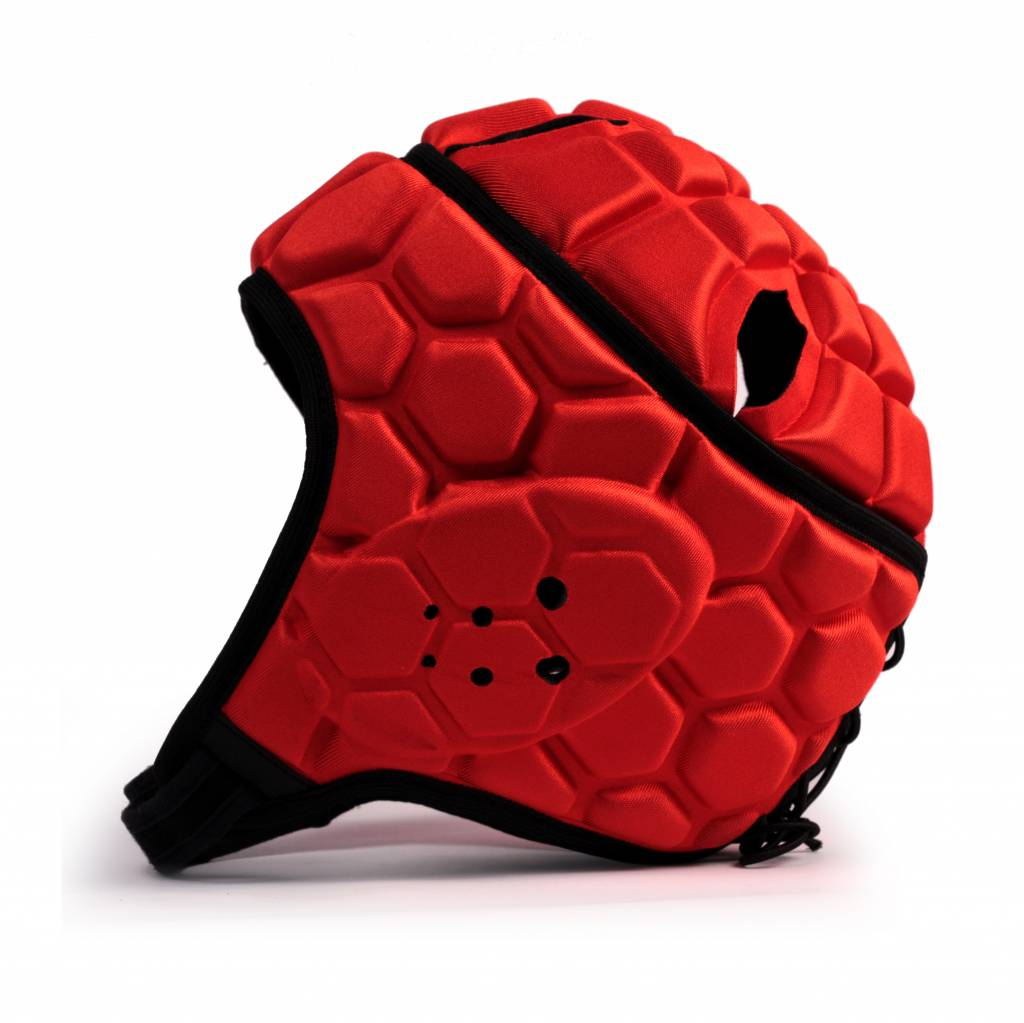 HEAT PRO competition rugby headgear, red