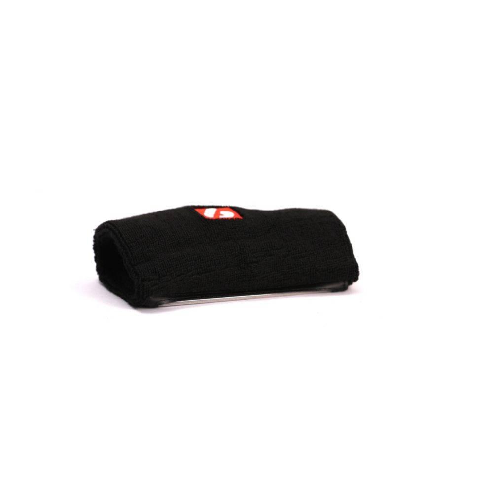 QB COACH Wrist sweatband, with transparent pocket