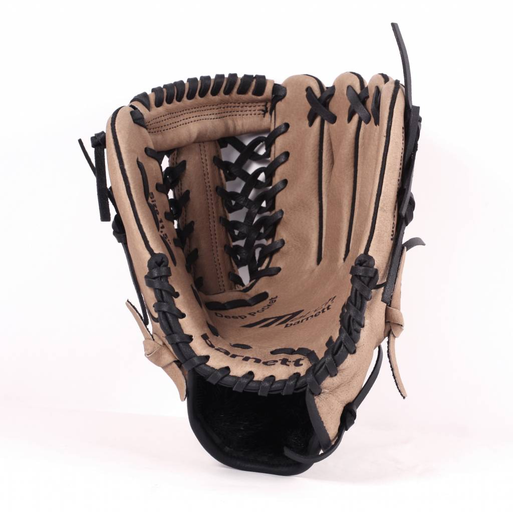 """SL-110 Baseball gloves in leather infield/outfield size 11"""", Brown"""