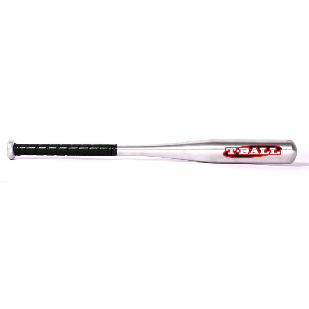 T-BALL Aluminium baseball bat, Size 25'' (71,12 cm), Silver metal