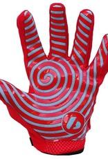 FRG-02 New generation receiver football gloves, red
