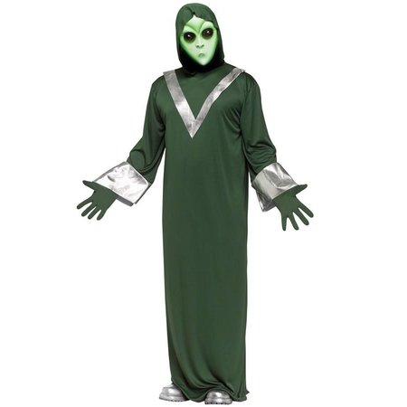 Alien verkleedpak
