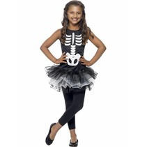 Skeleton Tutu kostuum kind