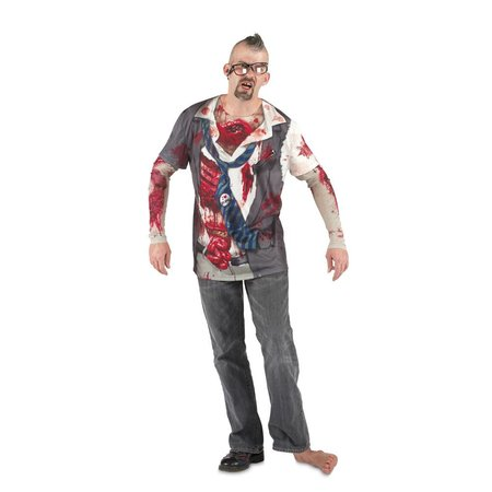 T-Shirt Zombie foto realistisch
