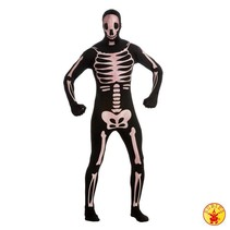 2nd Skin Suit skeleton glow in dark