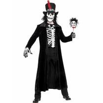 Voodoo Skelet kostuum man