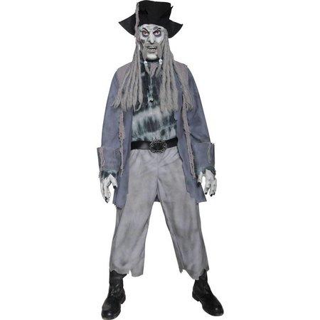 Zombie ghost piraat kostuum