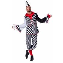 Domino Pierrot kostuum man