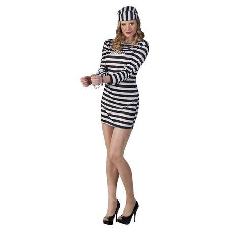 Gevangenis Chick kostuum