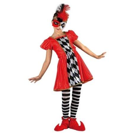 Kostuum Harlekijntje meisje
