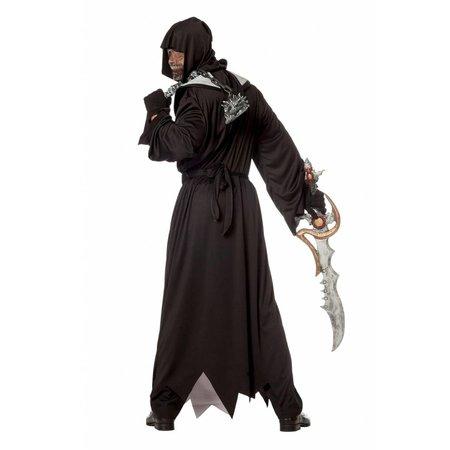 Halloween outfit met riem vleermuis