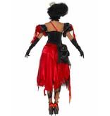 Gebroken Heart Queen kostuum