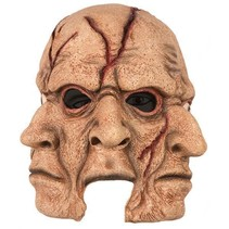 Griezel masker 3 gezichten