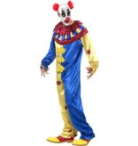 Freaky horror clown kostuum