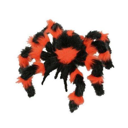Spin oranje/zwart 30cm