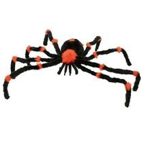 Spin oranje/zwart Halloween 90cm