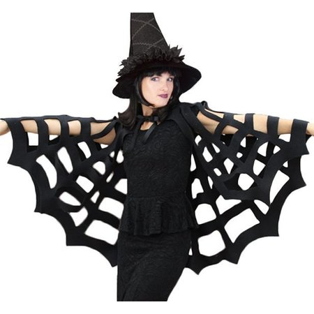 Spinnen cape Halloween