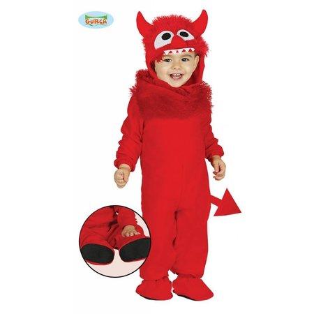 Baby duivel rode monster