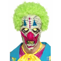UV Blacklight Killer Clown masker