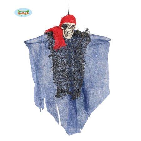 Decoratie skelet piraat 30 cm