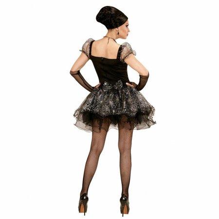 Burlesque Spinnen Dame Kostuum