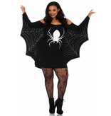 Spinnenweb Tuniek vrouw Plus size