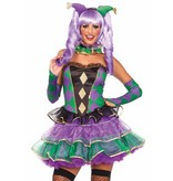Mardi Gras Sweetie kostuum