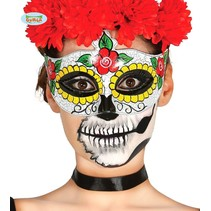 Day Of The Dead Oogmasker Trix