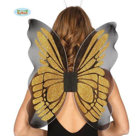 Gouden Vlinder Vleugels 46x55 cm