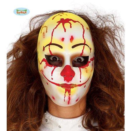 Clown Masker Halloween pvc