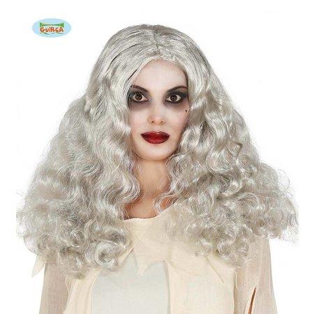 Zilver Pruik Bobby Halloween