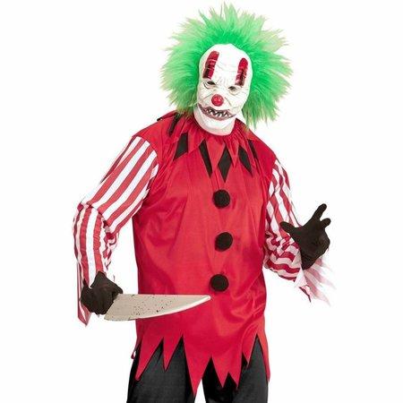 Sad Face Horror Clown Man Kostuum