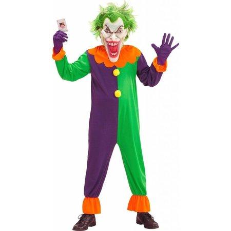 Duivel Joker Clown kostuum kind