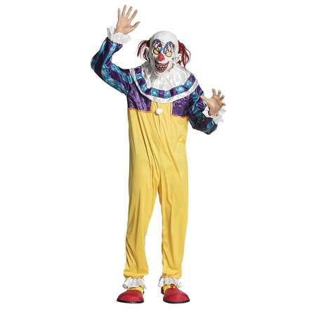Creepy Clown kostuum man