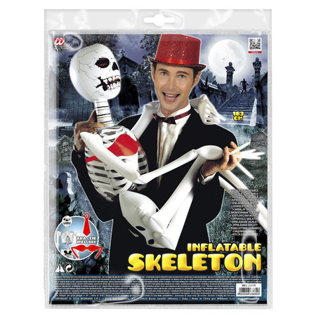 Opblaasbaar skelet 183cm