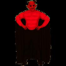 Gespierde Super Duivel kostuum volwassen