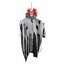Decoratie Freaky clown 70 cm